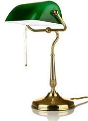 bankers lamp bankerlampe der klassiker aus messing. Black Bedroom Furniture Sets. Home Design Ideas